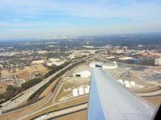 Atlanta Hartsfield Jackson International Airport: Going to be there soon! International Airport, Airplane View, Landing, Atlanta, Jackson, Life, Jackson Family