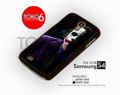 AJ 3665 Joker Black Shadow - Samsung Galaxy S IV Case | toko6 - Accessories on ArtFire