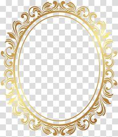 Frame Oval Border Deco Frame Oval Gold Ornate Frame Transparent Background Png Clipart Ornate Frame Gold Frame Yellow Framed Art