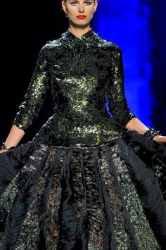 Jean Paul Gaultier at Couture Fall 2011 - StyleBistro