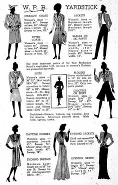 """WWII US War Production Board guidelines for women's clothing restricted the use of fabric for military use. In """"Blue Skies Tomorrow,"""" fashionable Helen Carlisle deals with these restrictions."""