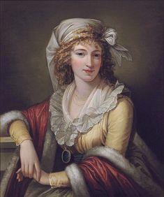 """Anna Maria Aloisna Rosa Ferri, the Artist's Wife"", Robert Fagan, ca. 1795; Christies Lot 284, Sale 8012"