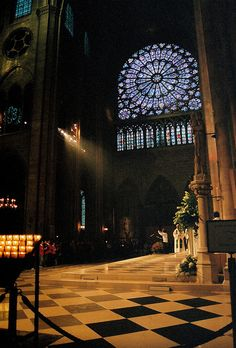 Notre Dame. No picture will ever do it justice. Ever.