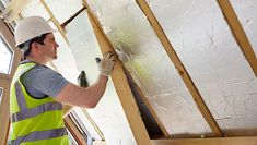 Insulation contractors provide the best bang for home renovation buck, and it could be the single most significant decision you make as a homeowner. Types Of Attic Insulation, Roof Insulation, Best Insulation, Insulation Materials, Habitat Collectif, Interior Fit Out, Office Fit Out, Roofing Companies, Mother Earth News