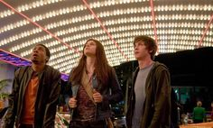 Still of Logan Lerman, Brandon T. Jackson and Alexandra Daddario in Percy Jackson & the Olympians: The Lightning Thief (2010) http://www.movpins.com/dHQwODE0MjU1/percy-jackson-/still-8556288