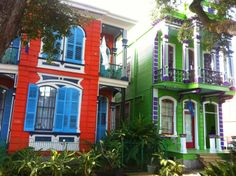 Two beautiful houses on Esplanade Avenue.  La Belle Esplanade Bed and Breakfast: How to effectively market a New Orleans B&B