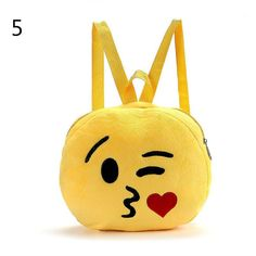Cute Baby Kid Expression Plush Toys Bags Girls Boy Children's Backpack Fashion