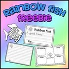 "This is a FREEBIE containing worksheets to correlate with the book ""Rainbow Fish"" by Marcus Pfister.  Included worksheets are: * Story Elements (ha..."