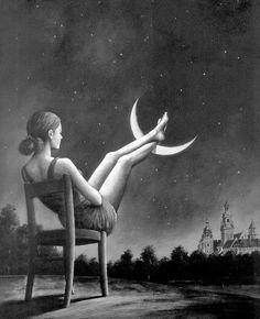 descanso na lua