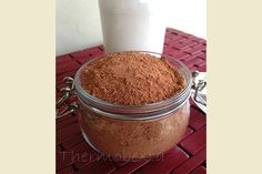 Smilo - This is my simple dairy free, grain free, additive free chocolate drink powder. Great for warm or cold drinks! Lchf, Milo Recipe, Bellini Recipe, Thermomix Desserts, Dairy Free Recipes, Paleo Recipes, Thermomix Recipes Healthy, Radish Recipes, Gluten Free