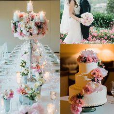 Romantic Classic pink elegance! Intimate destination Wedding at @belmondhotelcaruso planning and design @exclusiveitalyweddings #weddingdetails #luxuryweddingplanners #destinationweddings #hotelcaruso #ravelloweddings #realflowers #weddingcake #pinkweddings #weddingdecors