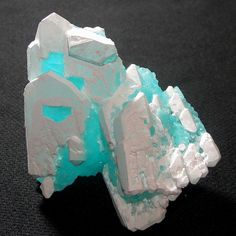 Blödite & Kröhnkite - Coronel Manuel Rodriguez Mine, Mejillones, Antofagasta Region, Chile