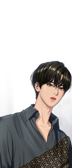 Handsome Korean Actors, Handsome Anime Guys, Suho, Princesse Disney Swag, Anime Korea, Angel Wallpaper, Mini Drawings, Angel Aesthetic, Webtoon Comics