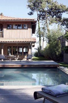 Une ingénieuse terrasse coulissante à Arcachon