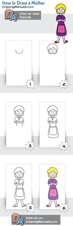 How to Draw a Mother