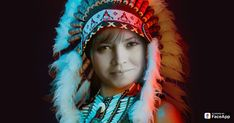 Hogyan néznél ki amerikai őslakos indiánként?
