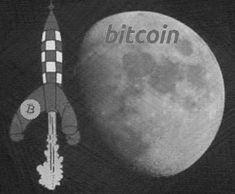 Bitcoin go to the moon Moon, Celestial, Image, The Moon