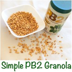 Simple PB2 Granola