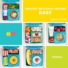 Omie Box lunch box for kids - keeps hot stuff hot and cold stuff cold.