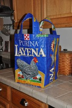 DIY Chicken Feed Sack Tote ‹ Community Chickens
