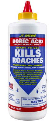 how to get rid of german roaches boric acid