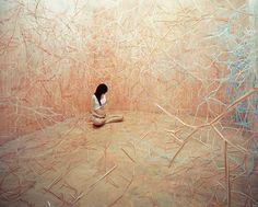 Korean artist Jee Young Lee transforms studio into incredible scenes_Food Chain