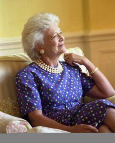 First Lady ★ Barbara Bush