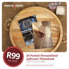 Celebrating New... Fresh... Simple! A4 Portrait Personalised Softcover Was R229 - Now Only R99 #fresh #special