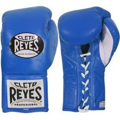 Cleto Reyes Official Fight Boxing Gloves, Blue