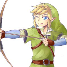 Good luck shooting that thing, buddy. There's no bowstring. XD