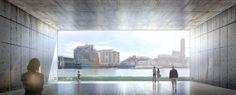 Galeria de Assista às mudanças das marés nessa proposta de museu para o Rio Tâmisa - 2