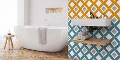 Cuarto de baño: bañera exenta Ideas Dormitorios, Elle Decor, Interiores Design, Villa, Bathtub, Bathroom, Nirvana, Wood Paneling, Bath