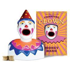 Baileys Bros Carnival Products. Carnival Clown Money Bank 20 x 14 x 26 cm