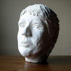 Homemade plaster of Paris serves as a cheap sculpting material.