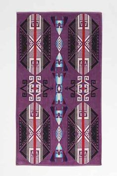 Pendleton Purple Hills Towel - Urban Outfitters