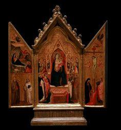 Taddeo Gaddi (1290–1366) Triptych Datecirca 1340MediumTempera on WoodCurrent locationMusée des Beaux-Arts de StrasbourgPalais Rohan