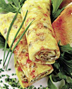 Clătite cu brânză - Retete culinare - Romanesti si din Bucataria internationala Halloumi Burger, Bacon, Ethnic Recipes, Food, Eten, Meals, Diet