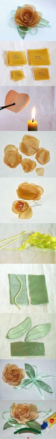 #fabric-flower