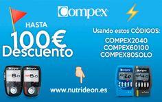 Hasta 100€ de descuento en electroestimuladores marca Compex