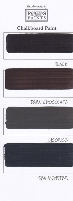 chalkboard paint color3 #칠판페인트