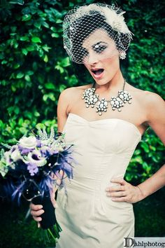 pinup bride = hot!