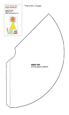 36 Ideas for hat paper craft templates Birthday Party Hats, Circus Birthday, Diy Party Hats, Elmo Party, Elmo Birthday, Mickey Party, Dinosaur Birthday, Diy Birthday Hat For Dog, Diy Hat