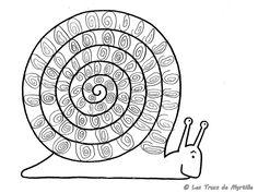 Les Trucs de Myrtille: L'escargot - Robert Desnos