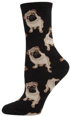 Wheel House Designs Dachshund Weiner Dog Novelty Crew Adult Dog Socks Black New