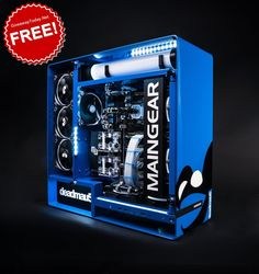 MAINGEAR surprises with a team up by Grammy nominated producer/musician and gamer, Diy Computer Case, Custom Gaming Computer, Gaming Computer Setup, Best Gaming Setup, Gaming Pc Build, Computer Build, Gaming Pcs, Gaming Room Setup, Pc Setup
