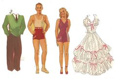 Vintage Paper Dolls - Bill & Gail | I had bought these lovel… | Flickr