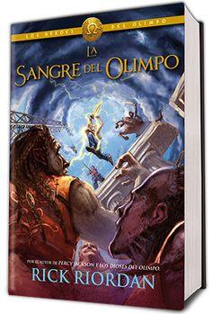 Eternamente en Tiniebla: Portada en español: La Sangre del Olimpo (Los Héroes del Olimpo #5) de Rick Riordan