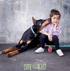 DOBERMAN PINSCHER  Sienna & Buddah can be found on Instagram @cutieandthebeast.jpg (954×960)