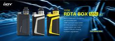 IJOY RDTA Box mini - Portable, All-in-one But Compatible With Most Tanks