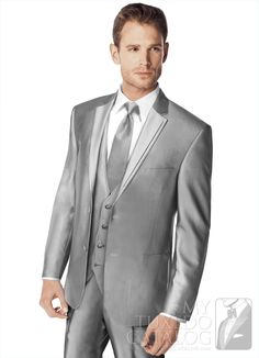 OOhhh Check this Grey 'Swagger' Tuxedo from MyTuxedoCatalog.com available from @Ellys Formal Wear & Bridals